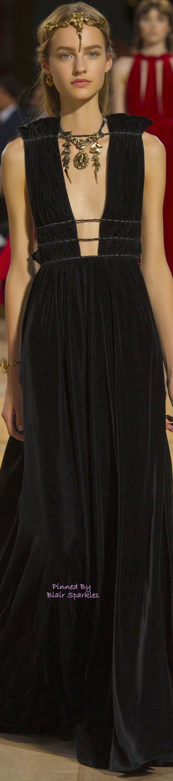 Modern Goddess Haute Gown. FALL COUTURE 2015 VALENTINO (Rome) ~ ♕♚εїз | BLAIR SPARKLES |