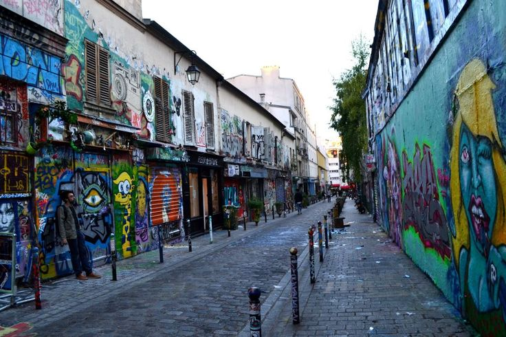 Seeing a different side of Paris