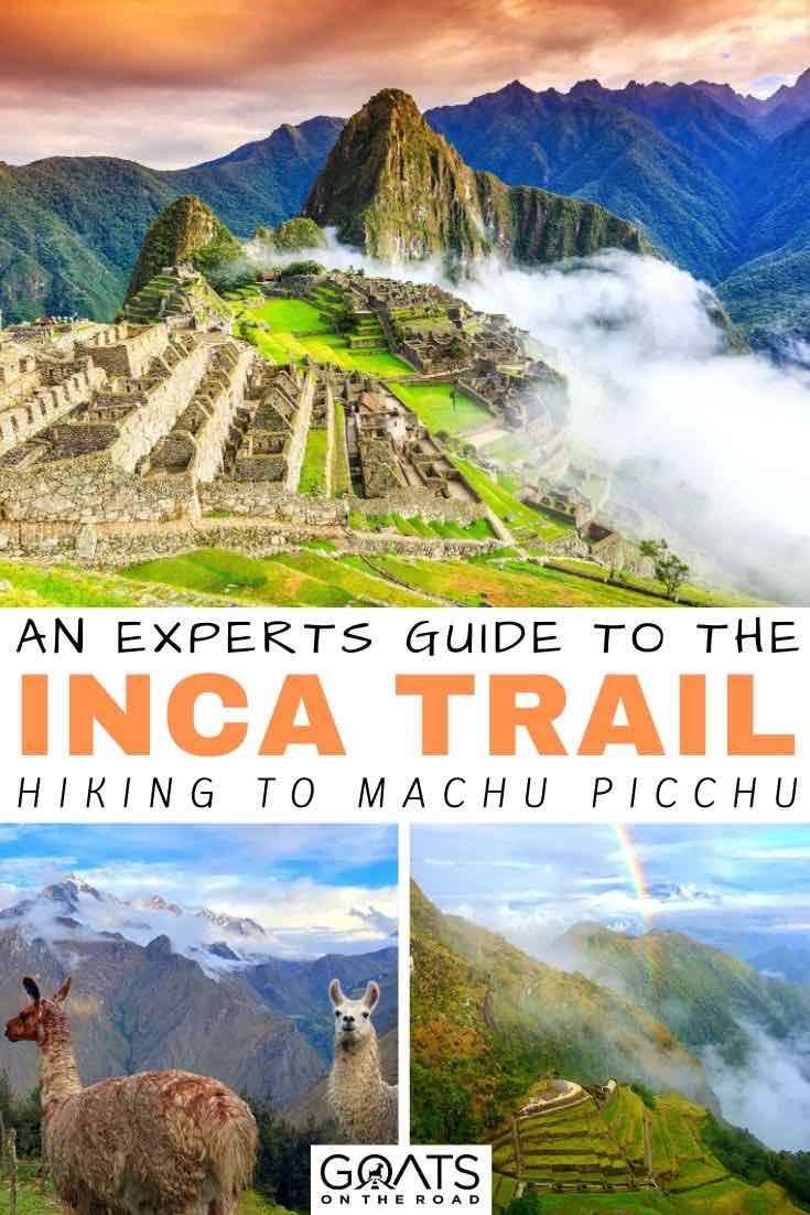 Machu picchu hike inca trail