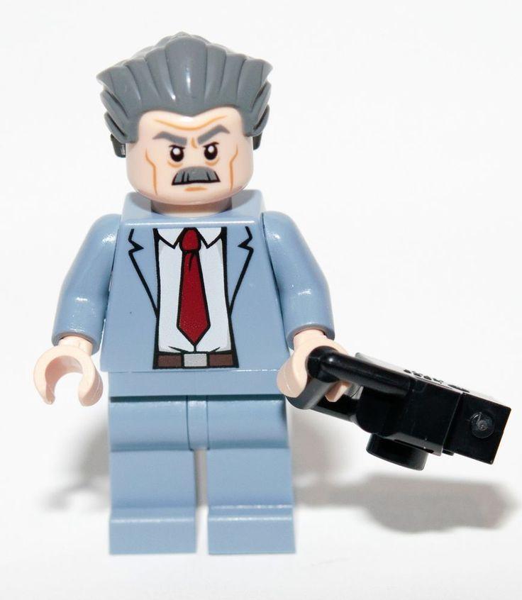 LEGO Super Heroes J JONAH JAMESON Daily Bugle 76005 Minifigure Dr Doom NEW Mint #LEGO