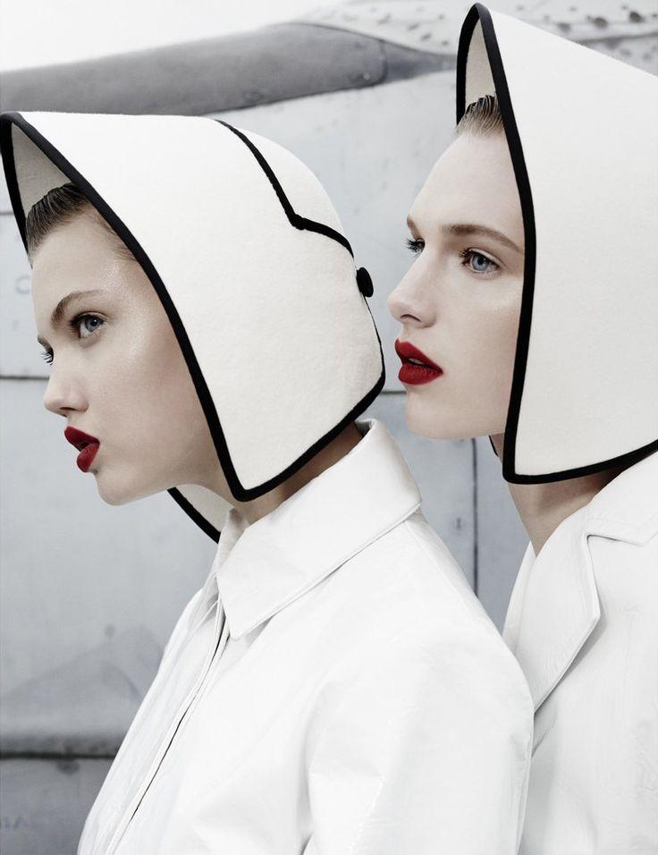 Lindsey Wixson & Ashleigh Good for W Magazine November 2013 - Emma Summerton Photography