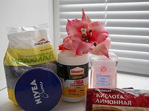 Простой и доступный рецепт холодного фарфора, который получается всегда | Ярмарка Мастеров - ручная работа, handmade