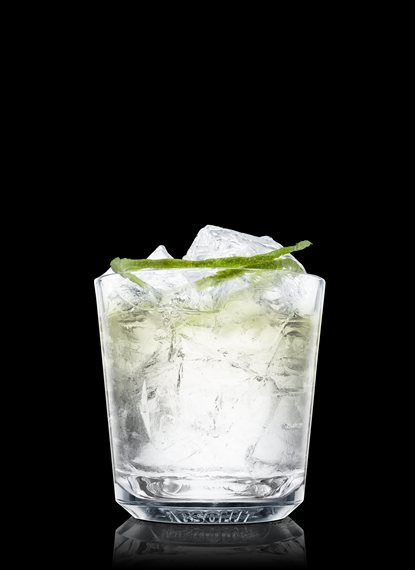 Absolut Citron Gimlet - Fill a rocks glass with ice cubes. Add all ingredients. Garnish with lime. 2 Parts Absolut Citron, 1 Part Simple Syrup, 1 Part Lime Juice, 1 Twist Lime