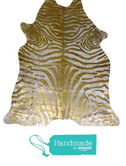 Alfombra Piel de Vaca Acid Wash Cebra Beige Oro CH-1668 Dyed Cowhide de PuraSpain https://www.amazon.es/dp/B071J5JQPH/ref=hnd_sw_r_pi_dp_d3-qzb8M4P7S3 #handmadeatamazon