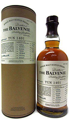 Balvenie – Tun 1401 Batch 7 – Whisky: Balvenie Whisky Cardboard Tube 70cl / 700ml