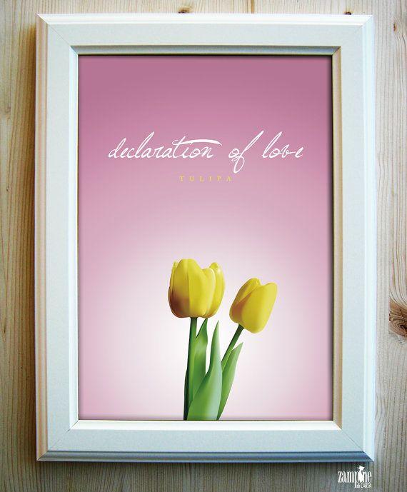 Tulipa - declaration of love - Il Linguaggio dei fiori