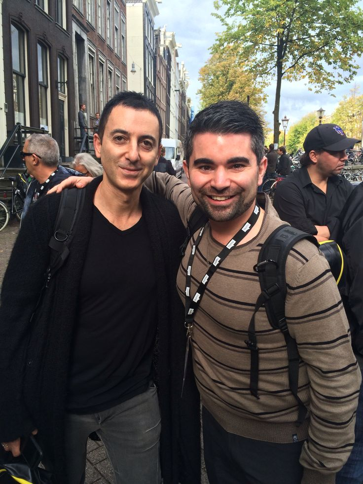 SmithsonMartins Dave with Dubfire at #ADE