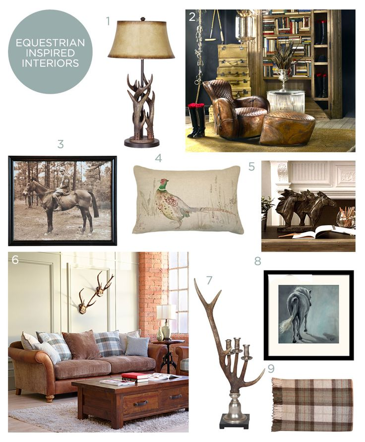 Create An Equestrian Inspired Interior Country Style Living Room Modern Heritage Home