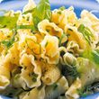 Lemon and herb pasta salad