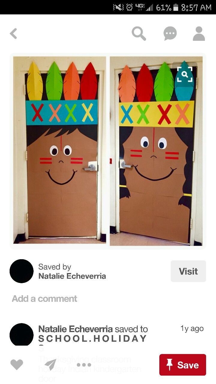 Cartoon classroom door - Indian Boy And Girl Door Displays