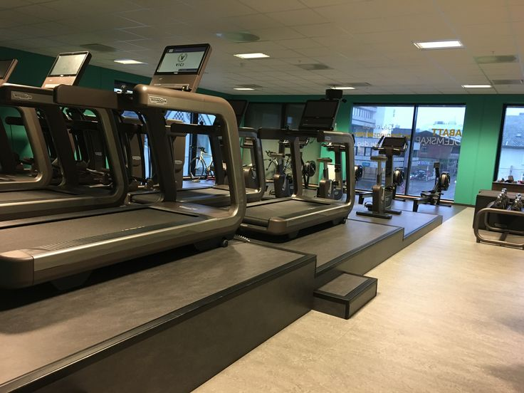 Vici Treningsenter Haugesund i Helsehuset Forbo Marmoleum
