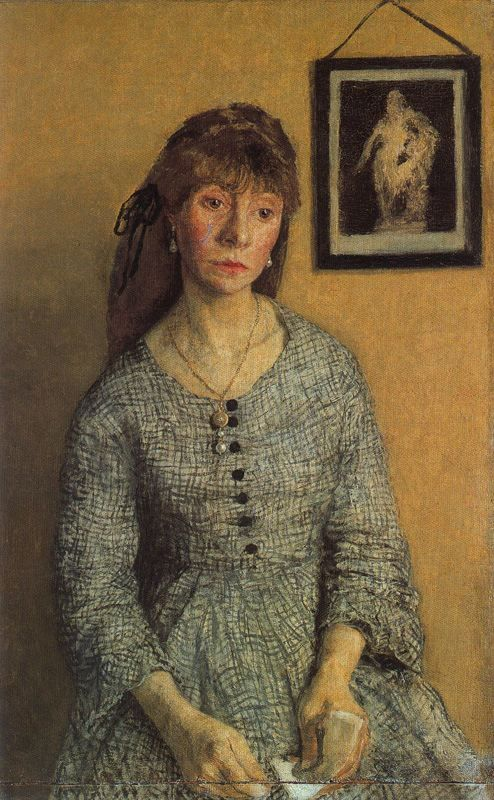 Chloe Boughton Leigh, 1904-1908  Gwen John