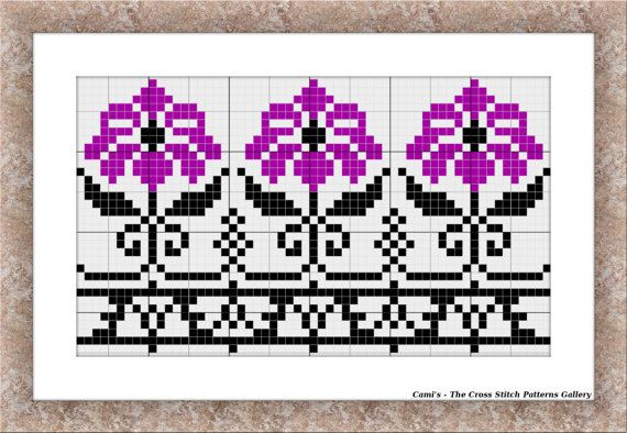 Mini cross stitch chart Mini cross stitch by CamisTheCrossStitch