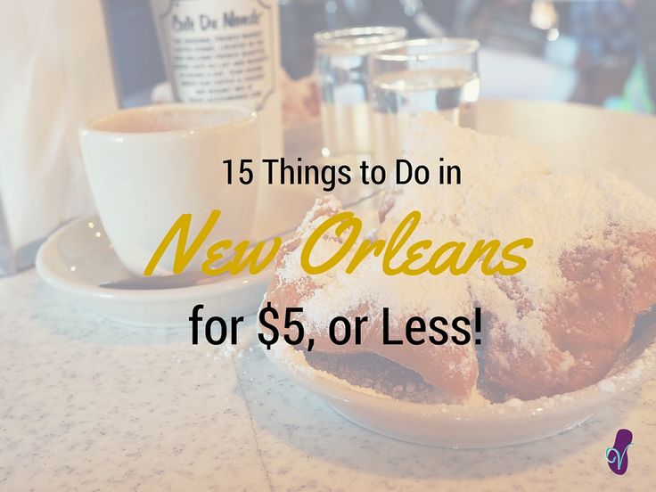 There are loads of cheap things to do in New Orleans, trust me. I spent 3 weeks there and had a brilliant time! Here's how to do NOLA on a budget.