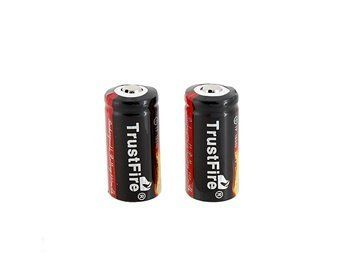 TrustFire 2*3.6V 880mAh 16340 Rechargeable Li-ion Battery by China. $6.75. TrustFire 2*3.6V 880mAh 16340 Rechargeable Li-ion Battery