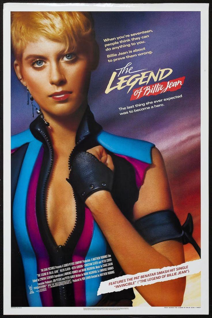 The Legend of Billie Jean (1985) Stars: Helen Slater, Christian Slater, Keith Gordon, Richard Bradford, Peter Coyote, Yeardley Smith, Dean Stockwell ~ Director: Matthew Robbins