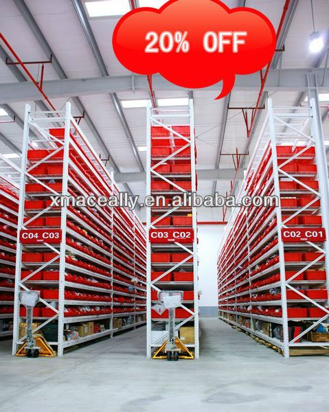 Dexion standard heavy duty thirteen-layer single deep wire decking pallet racking system with various colors and sizes  #Dexion #standard #heavyduty #thirteenlayersingle #deep #wire #decking #pallet #racking #system with #variouscolors and #sizes #metalshelving #longspanshelving #warehouse #storage #logistic #goods #cargo #CorrosionProtection #industrial #workshop #supermarket #showcase #Storeroom #inventoryrooms #coldstorage #wholesalestores #machinery