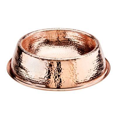 Solid Copper Pet Bowl