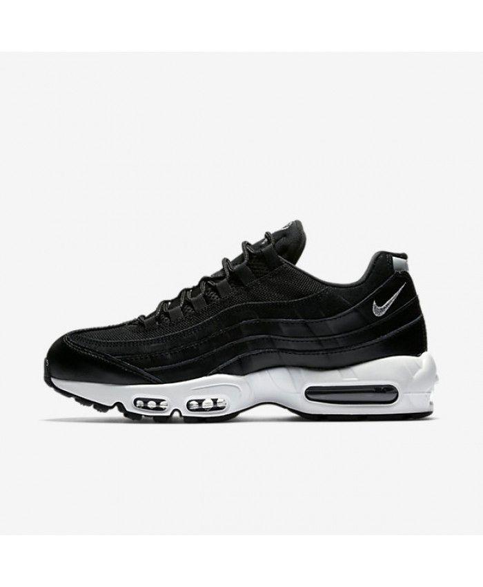 reputable site 465f3 17b63 Nike Air Max 95 Premium Black Black Off White Chrome 538416-008
