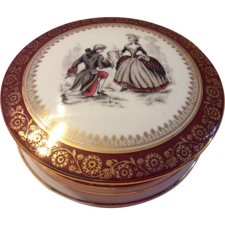 French Limoges Candy Dish offered by Luxury French Collection on Ruby Lane