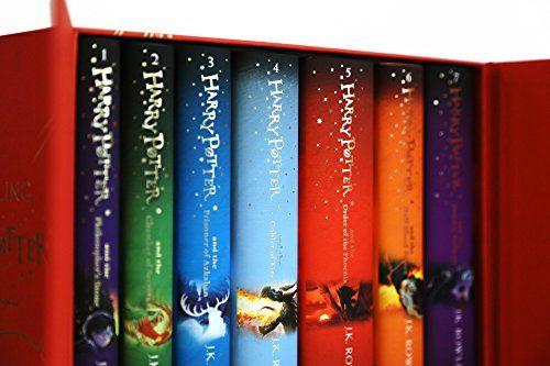 Harry Potter Children's Hardcover 7 Volume Boxed Set: The Complete Collection (Set of 7 Volumes)