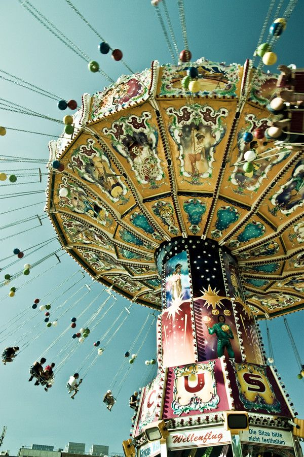 life is like a carosel - going up, going down... but always moving at a steady pace - and creating joy with the motion