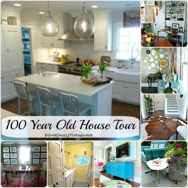 Old House Tours   100 Year Old Home Renovated To Perfection