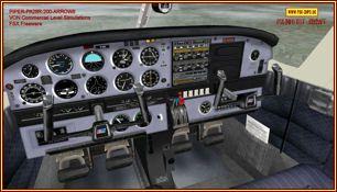 Piper-PA28R-200-ARROW II als FSX Freewarevon Commercial Level Simulations