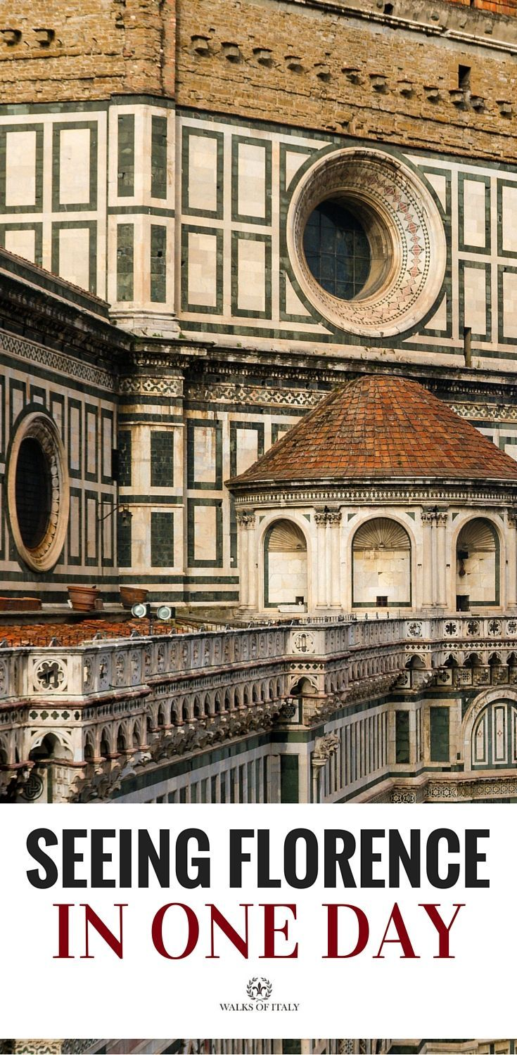 Discover the best things to do in Florence if you only have one day.