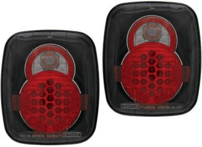 Click Image Above To Purchase: 1987-1995 Jeep Wrangler (yj) Tail Light Ipcw Jeep Tail Light Ledt407cb 87 88 89 90 91 92 93 94 95