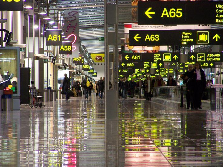 Flown through Brussels Airport, Belgium before the terrorist attack.
