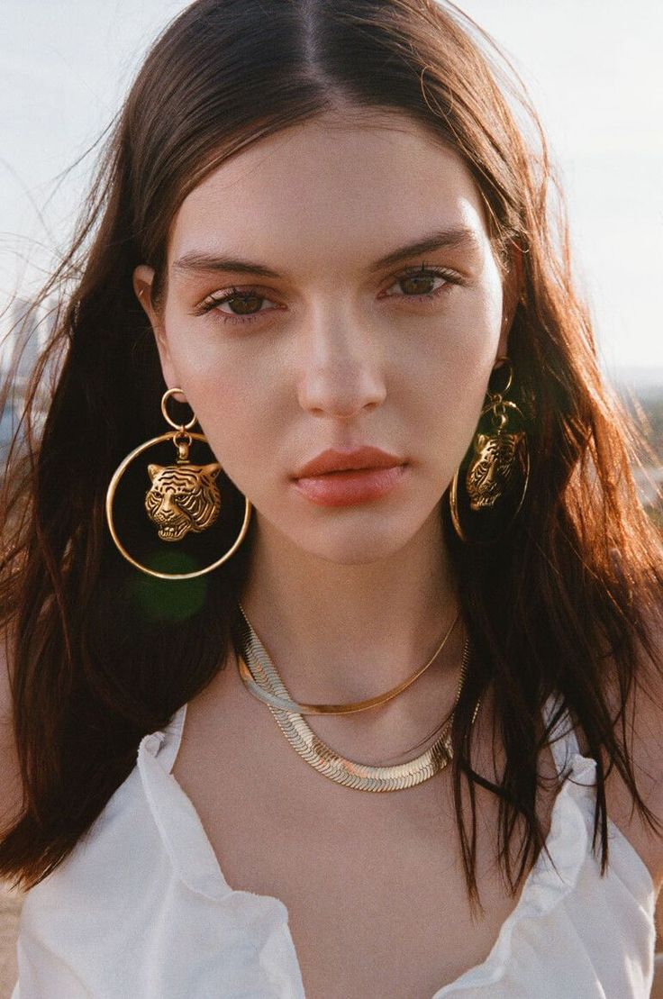 LA based fashion jewelry designer Vanessa Mooney draws inspiration from astrology and the human dichotomy in this stunning collection. #jewelrydesign