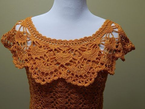 Blusa Tejida para Verano Crochet parte 2 de 2, My Crafts and DIY Projects