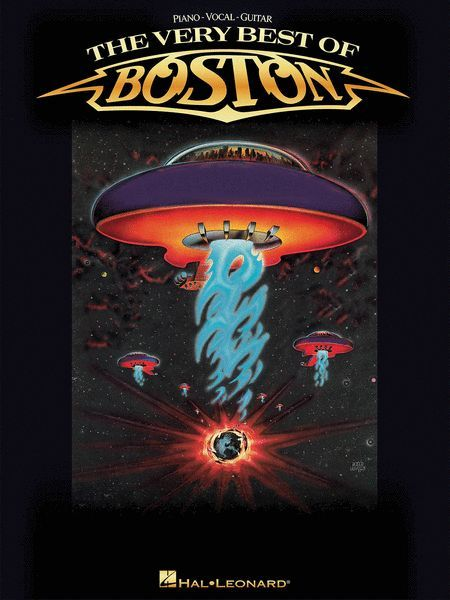 The Very Best of Boston  Piano, Vocal, Guitar Sheet Music