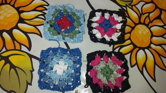 My first granny squares