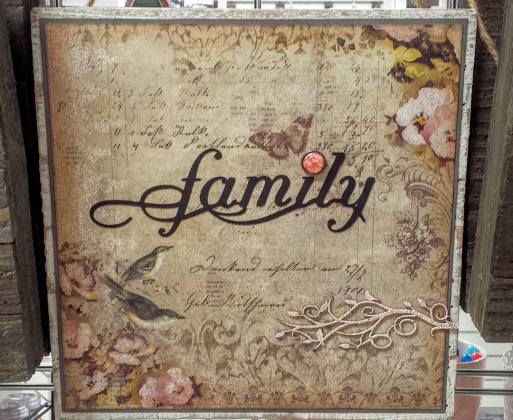 www.treasuredmemoriescanada.com Blue Fern Studios Paper & Chipboard