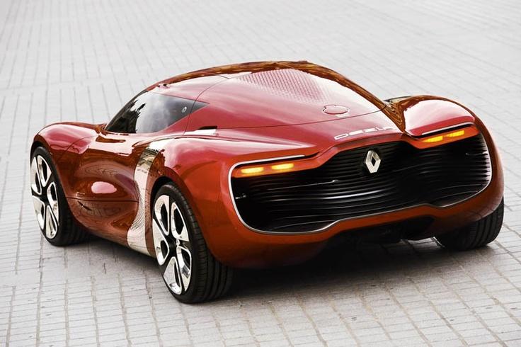 DeZir, concept car by Renault. Credits: P. Sautelet