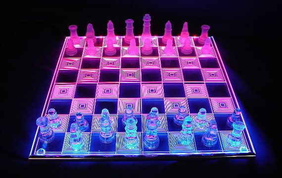 Cool PHOTON CHESS   LED Glowing Chessboard