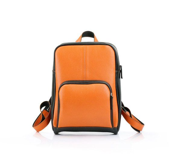 $195 | Genuine Leather Backpack | Color Mix | School Rucksack | Unisex A4 backpack | Minimal Vanguard Design by Leonid Titow  https://www.etsy.com/ru/listing/492543709/genuine-leather-backpack-color-mix?ref=shop_home_active_17