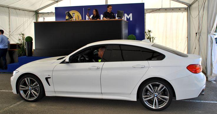 Uno de lo lotes BMW vendidos en una de las subastas de vehículos de ocasión BMW Online en vivo, organizada por Manheim