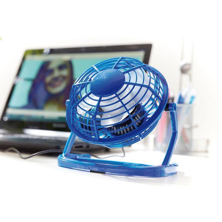 Cooler Helfer für die heißen Tage! Der kleine USB-Tischventilator sorgt für einen kühlen Kopf am Arbeitsplatz oder zuhause. #werbeartikel #werbemittel #werbegeschenk #werbegeschenke #giveaway #giveaways #promotion #promotional #promotionalproducts #werbung #merchandise #marketing #gifts #cool #style #frisch #fresh #erfrischend #erfrischung #refresh #ventilator #usb #buerohelfer #warm #heiß #hot #sommer #tool #gadgets #technik
