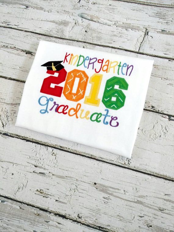 Check out this item in my Etsy shop https://www.etsy.com/listing/292043523/kindergarten-graduation-shirt-graduation