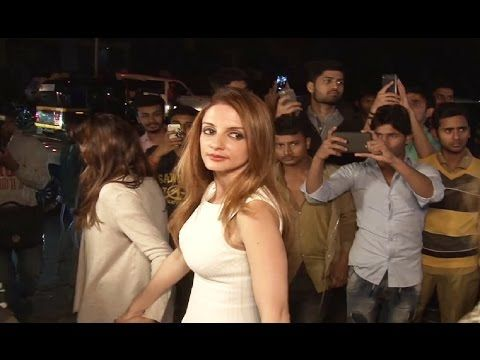 Ex wife Sussanne Khan attends Hrithik Roshan's 43rd birthday party.