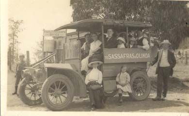 [Sassafras & Olinda coach ?1914] [picture]