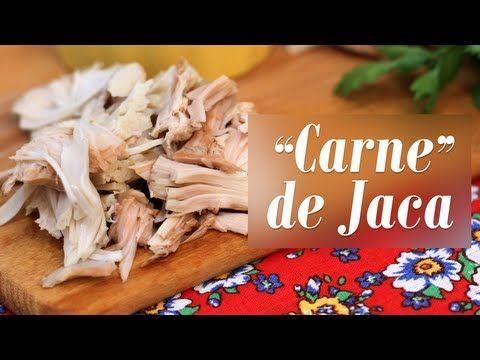 """""""Carne"""" de Jaca - Presunto Vegetariano"""