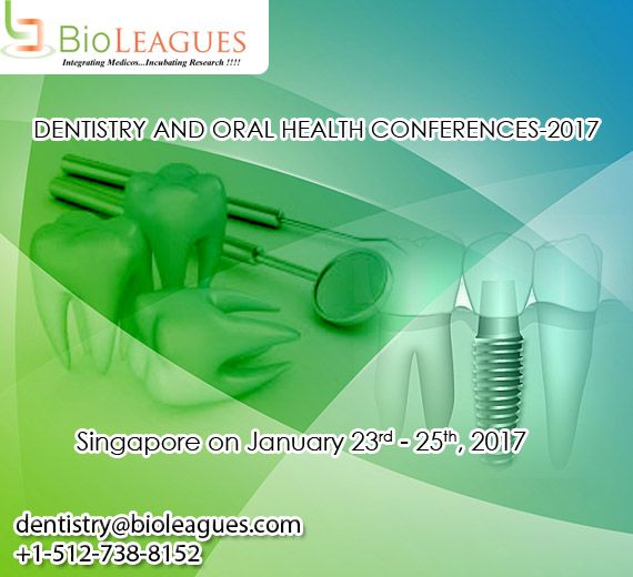 Bioleagues worldwide conduct Dental conferences are making a thorough effort in its fight against the global oral health epidemics. These events, conference very useful for the student, #researcher , professional ,etc to share works or research in Dental Management, #Dental Emergency, Anesthesia, Dental Management, #Dental Marketing, Endodontics, Oral and Maxillofacial Surgery, Hypnodontics, Oral Medicine, Laser Dentistry, Oral Implantology, Orthodontics, Pediatric #Dentistry…