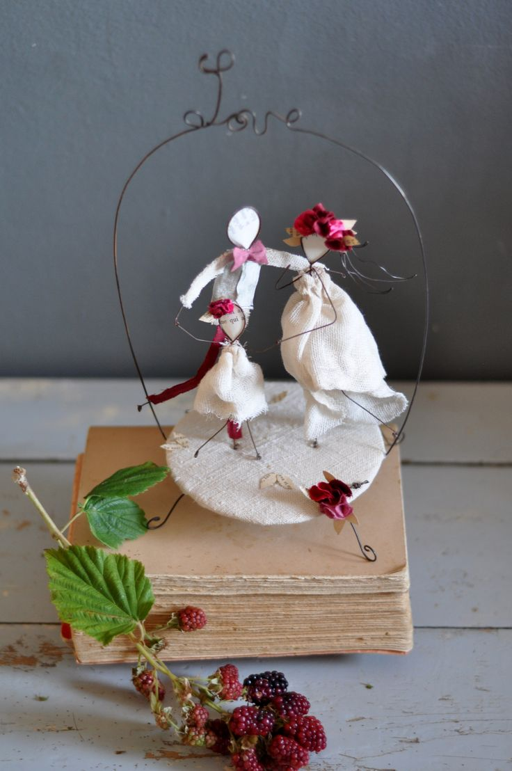 Bohemian Wedding Wedding Cake Toppers Christmas