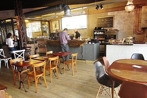 cafe lomi 3 ter rue Marcadet, 75018 koffie metro: Marx Dormoy