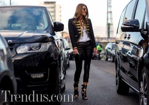 Moda Haftaları'ndan Sokak Stilleri