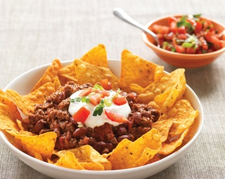 Mexican Nachos http://www.foodinaminute.co.nz/Recipes/Mexican-Nachos#